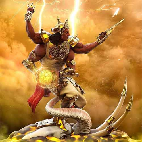 Is there a Thor equivalent in Hindu religion