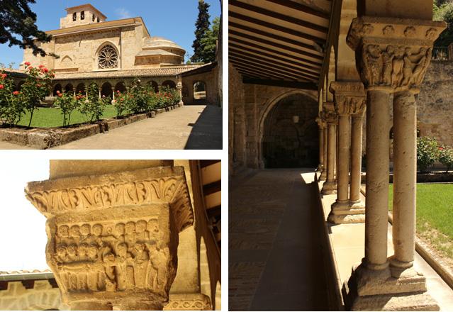 El claustro de la iglesia de San Pedro de la Rúa