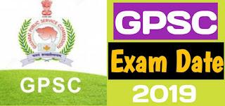GPSC Exam 2019