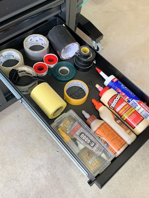tool storage drawers