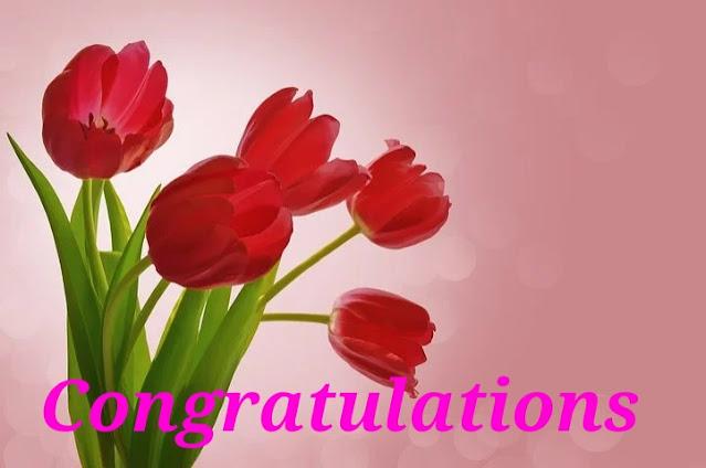 Congratulations.