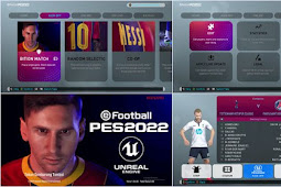 PES 2022 Graphic Menu For - PES 2019