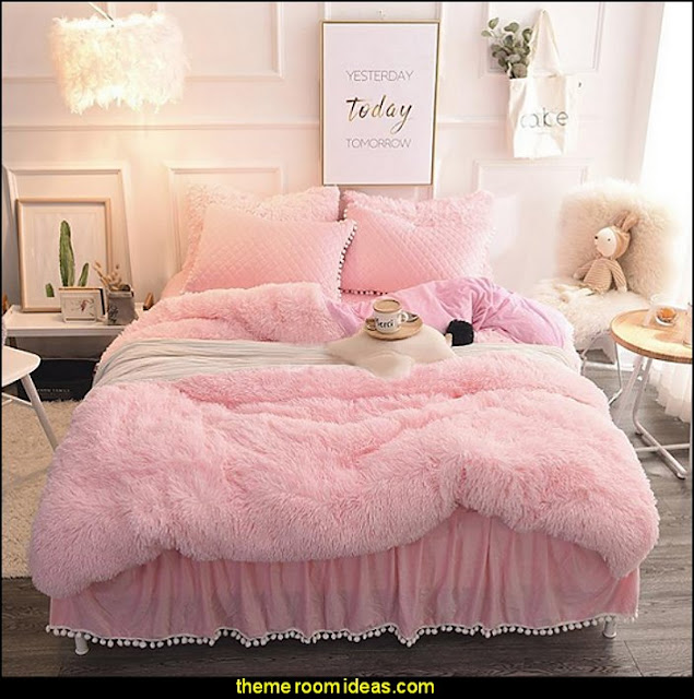 faux fur home decor - fuzzy furry decorations - Flokati - mink - plush - shaggy - faux flokati upholstery - super soft plush bedding - sheepskin - Mongolian lamb faux fur - Faux Fur Throw - faux fur bedding - faux fur blankets - faux fur pillows - faux fur decorating ideas - faux fur bedroom decor - fur decorations