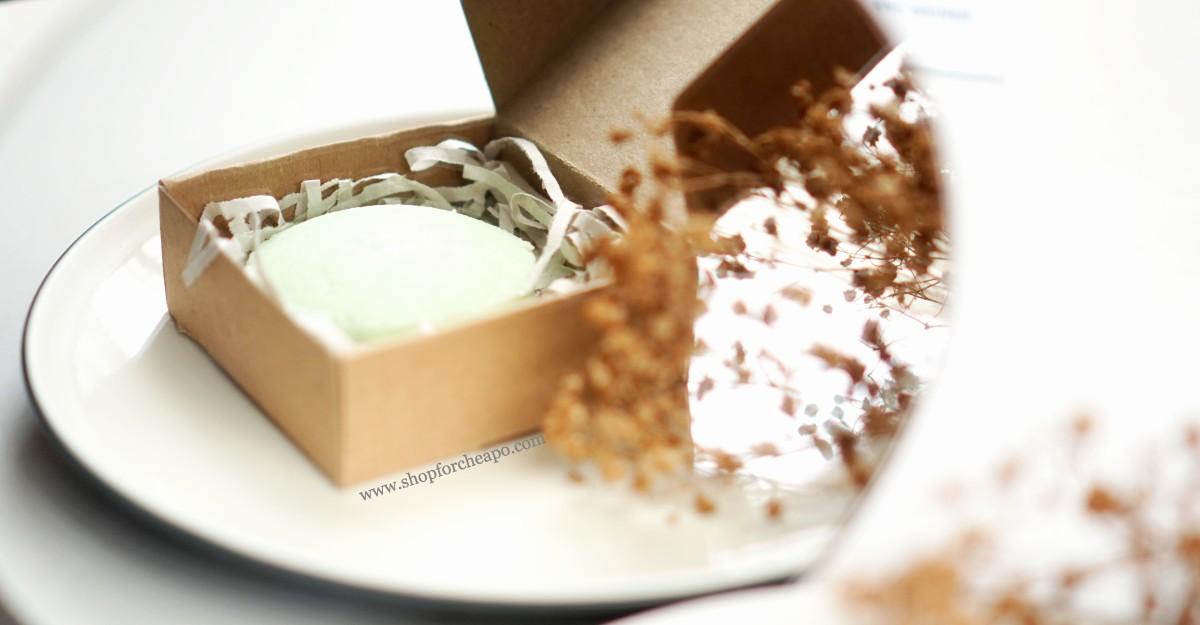 Review Seven Cactus Soapworks Lemon Mint Shampoo Bar