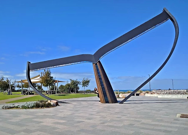 'Whale Tail' Sculpture by Cindy Poole | Esperance