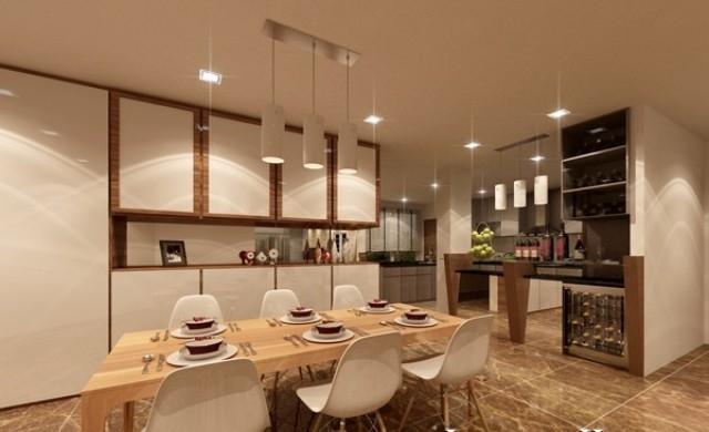 thiết kế căn hộ dự án Samsora Premier 105