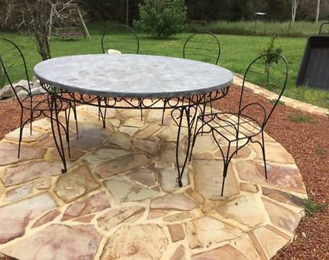 outdoor table and chairs gumtree perth