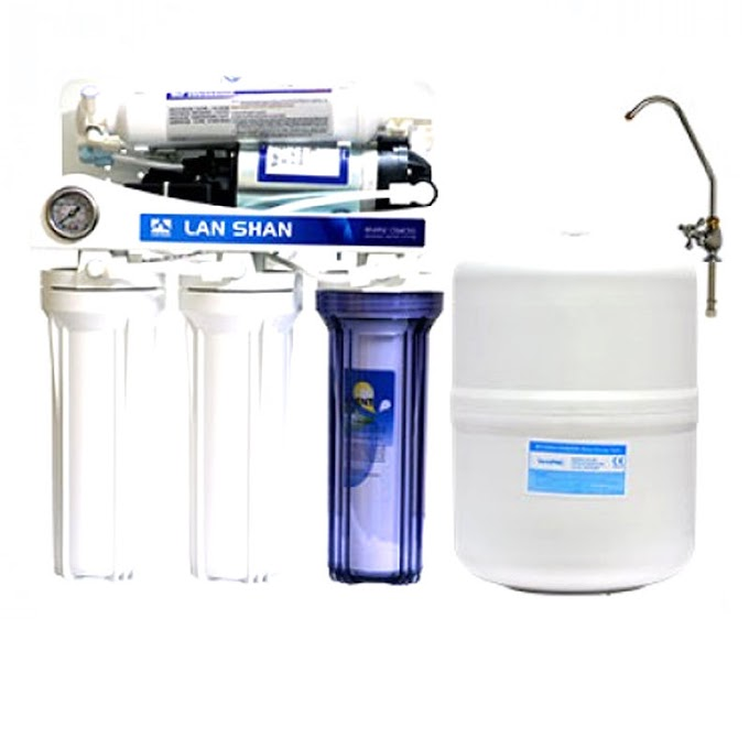 Lan Shan Lsro-101-Bwg 5 Stages Ro Purifier.Water Quality 100% purified safe drinking water as per BSTI and WHO's standard
