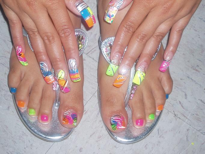 Uñas Decoradas Para Los Pies 17 Ideas Originales ε Diseños De