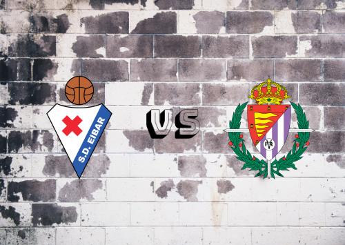 Eibar vs Real Valladolid  Resumen