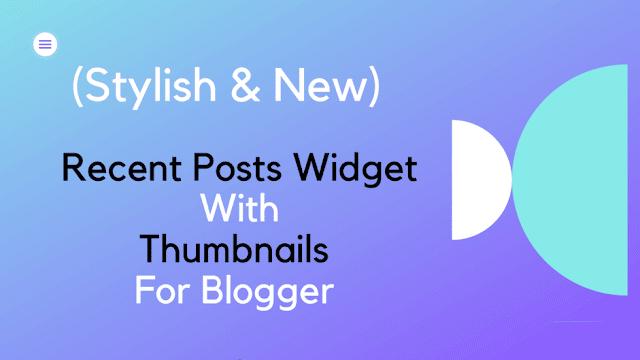 recent-post-widget-for-blogger