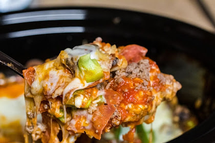 Crockpot Keto Pizza Casserole (Easy Dinner Idea)