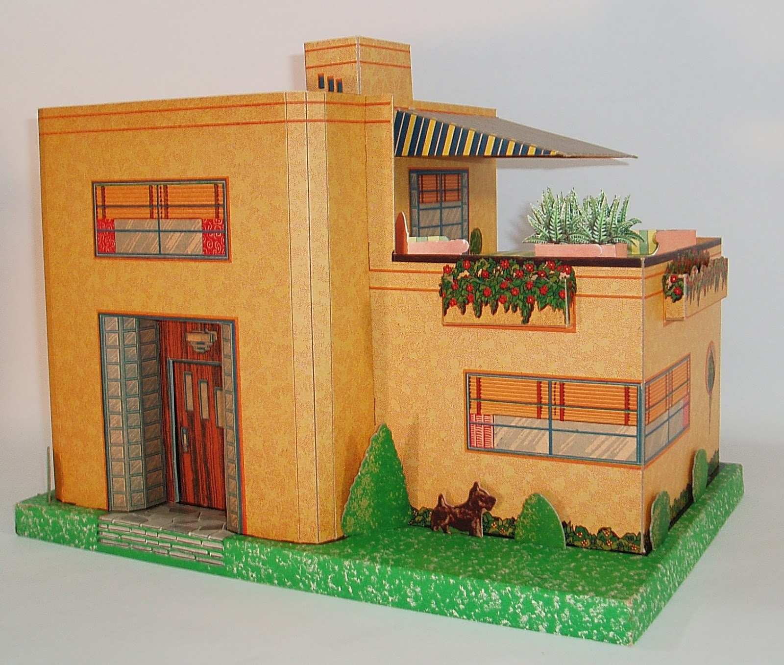 My Vintage Dollhouses: An ART DECO birthday house!