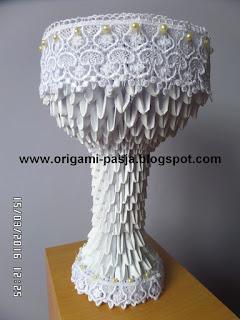 origami 3d, modułowe, koraliki, papier, klej, oryginalny prezent na komunię