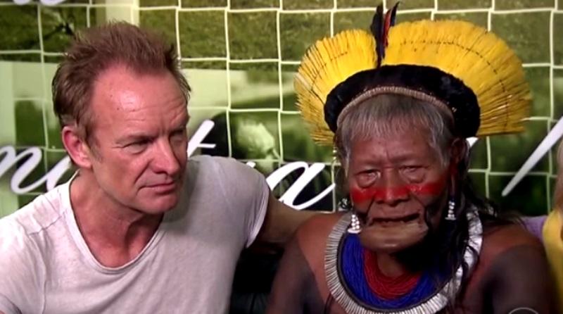 Fundação de Sting em defesa da Amazônia bate recorde em doações