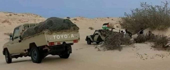El Ejército saharaui arrasó varios puntos de vigilancia estratégicos en Mahbes.