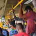 Man who boarded a BRT bus shows how covid-19 rules were broken [photo]