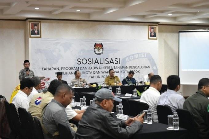 KPU Sosialisasikan Tahapan Pilkada 2020