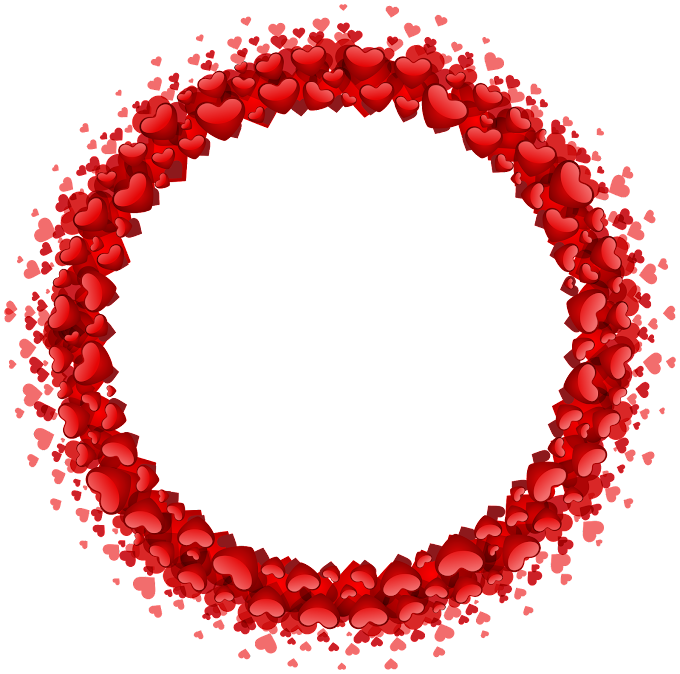 Round red heart frame, Heart, Heart Round Border, love, symmetry, romantic png free png by pngkh.com