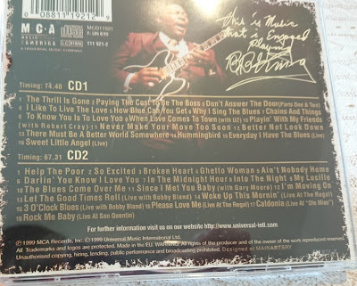 [Music Monday] B.B. King - Definitive Greatest Hits