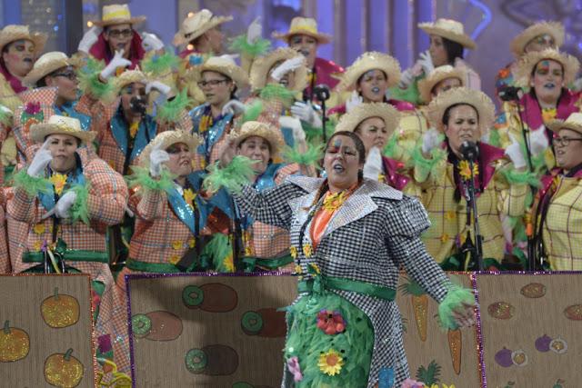 La final del  concurso murgas 2016 carnaval las palmas