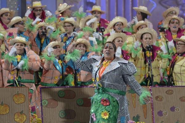 La final del concurso de murgas 2016, Carnaval  Las Palmas