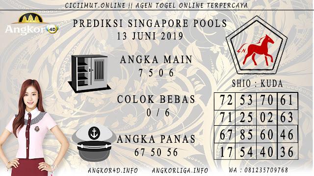 PREDIKSI SINGAPORE POOLS 13 JUNI 2019