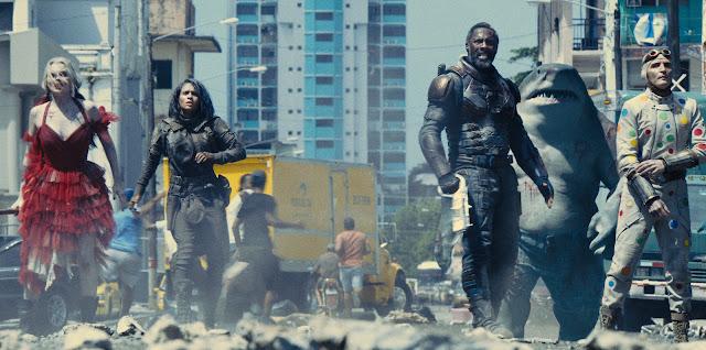 David Dastmalchian Daniela Melchior John Cena Idris Elba James Gunn | The Suicide Squad