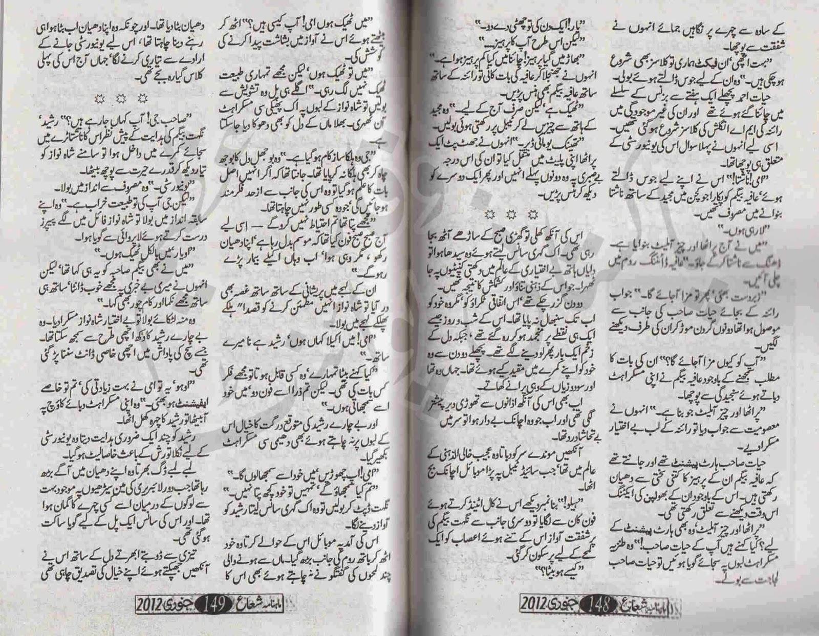 Zabt E Ishq Novel Pdf