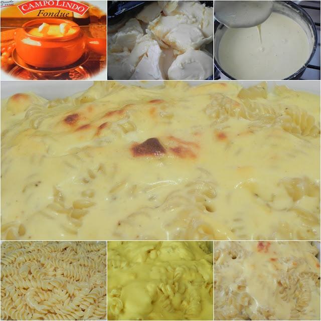 receita macarrão queijo