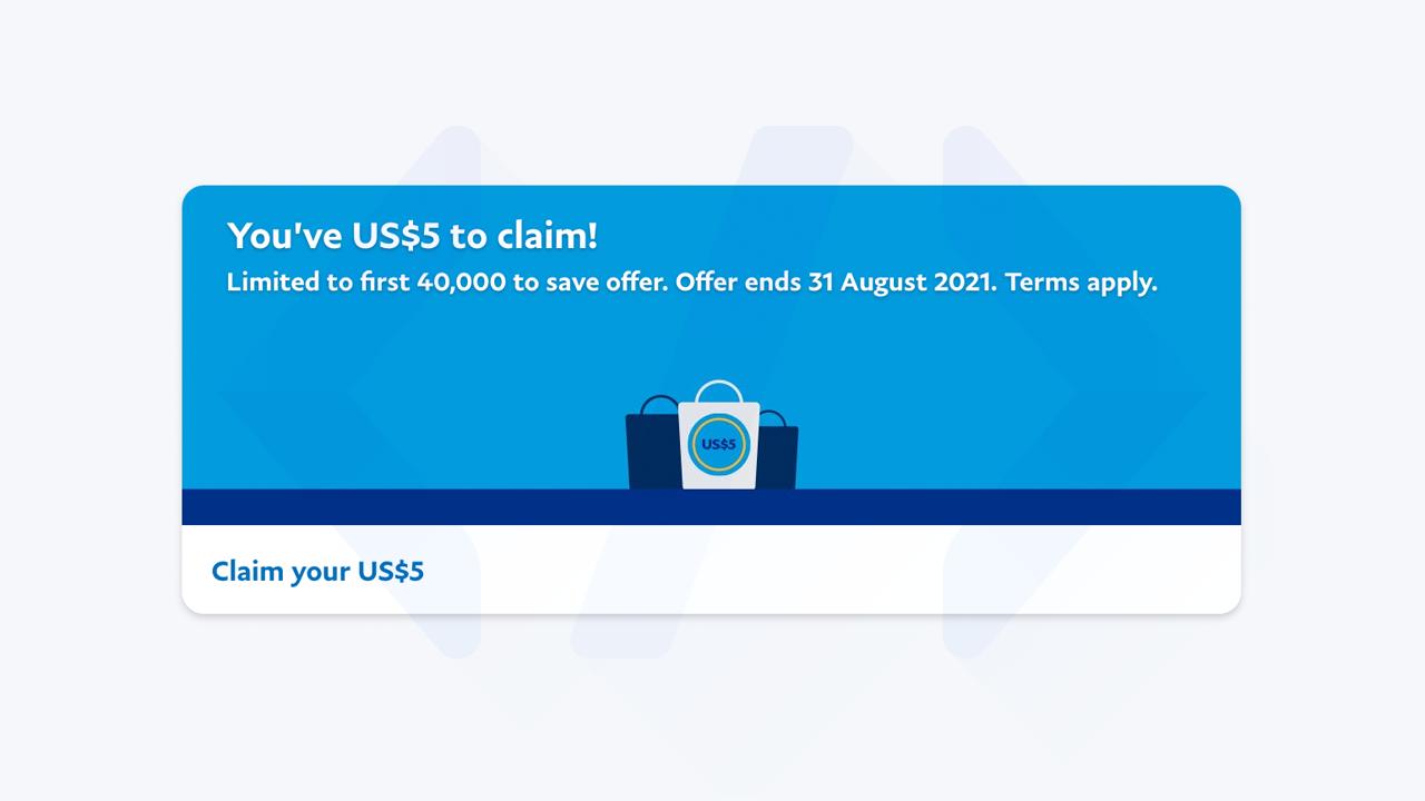 Hướng dẫn nhận 5 đô miễn phí từ PayPal mới nhất bước 2