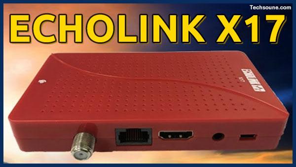 تعرف على جهاز ECHOLINK X17 الجديد واشتراكاته