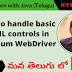 How to handle basic html controls in Selenium WebDriver - Part 9