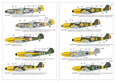 "AR14307 - 1/144 Messerschmitt Bf 109E ""Foreign Service Aces"", Pt.2 picture 5"
