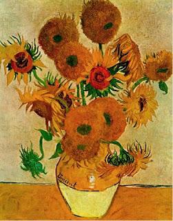 Obra - Os Girassóis - Van Gogh