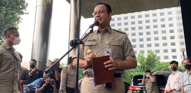 Beda Sikap Usai Diperiksa KPK, Anies Baswedan Tenang sedangkan 2 Politisi PDIP Pilih Kabur dari Wartawan