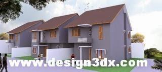 desain rumah genteng cisang canopy listplang warna kayu