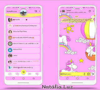 Unicornios Theme For YOWhatsApp & Fouad WhatsApp By Natalia Luz