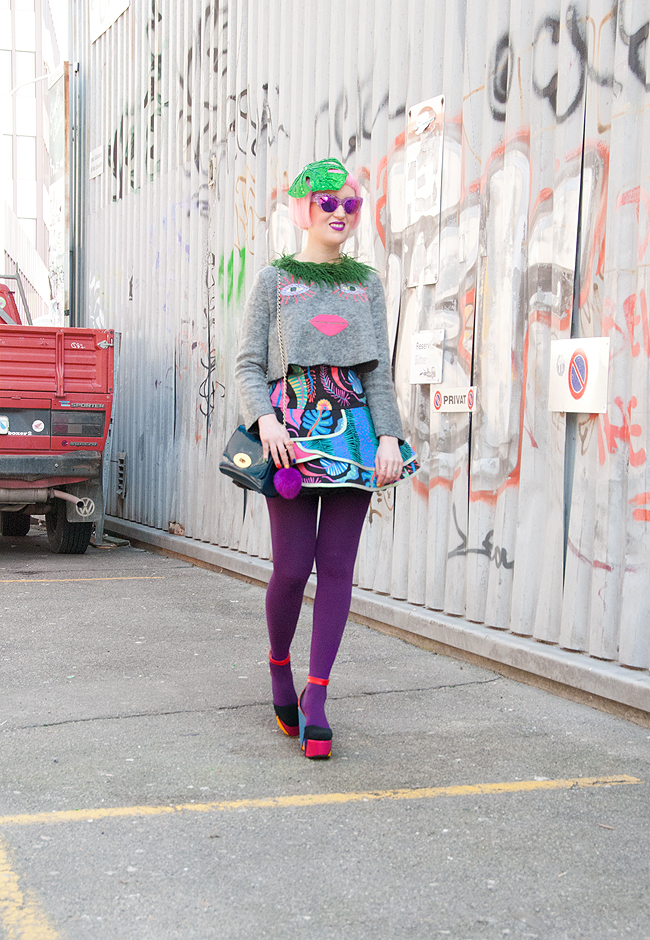 Celia B, alternative streetstyle, blogger style