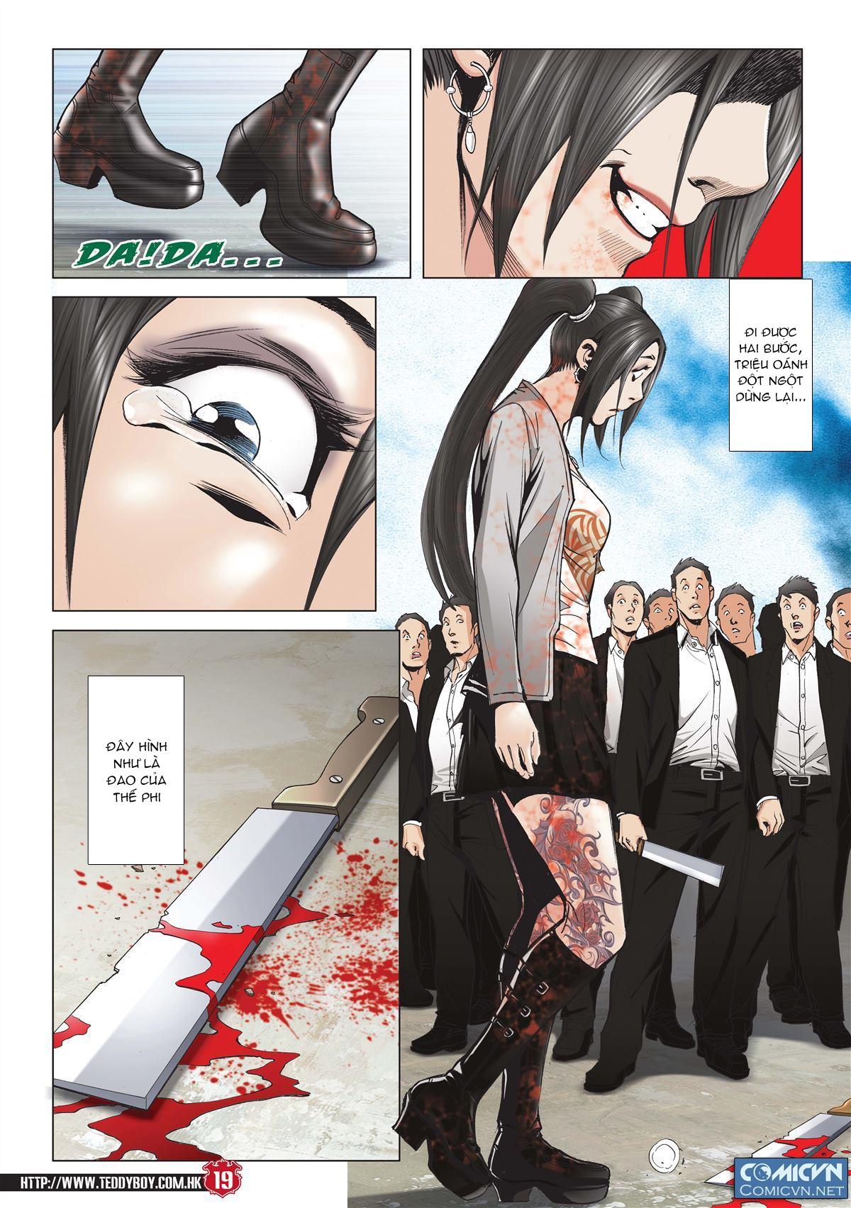 Người Trong Giang Hồ chapter 2001: tự tận trang 18