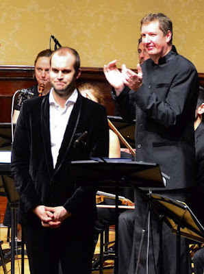 Ashley Riches, Ian Page, orchestra of Classical Opera - Flickr photo credit treble2309 (Andrea Liu)