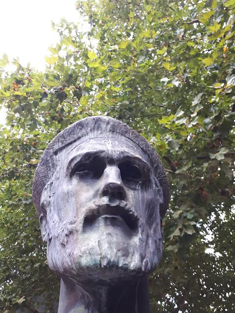 Gutenberg statue in Mainz am Rhein