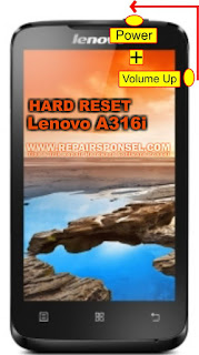 Hard Reset Lenovo A316i work 100% (TESTED)