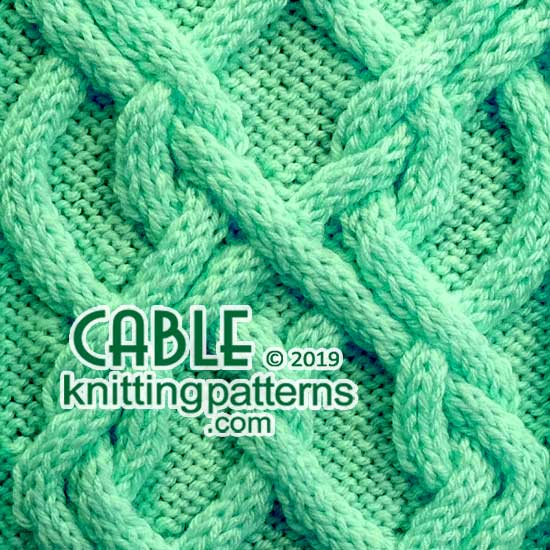6debda87a Cable Knitting Pattern 62 - Cable Knitting Patterns