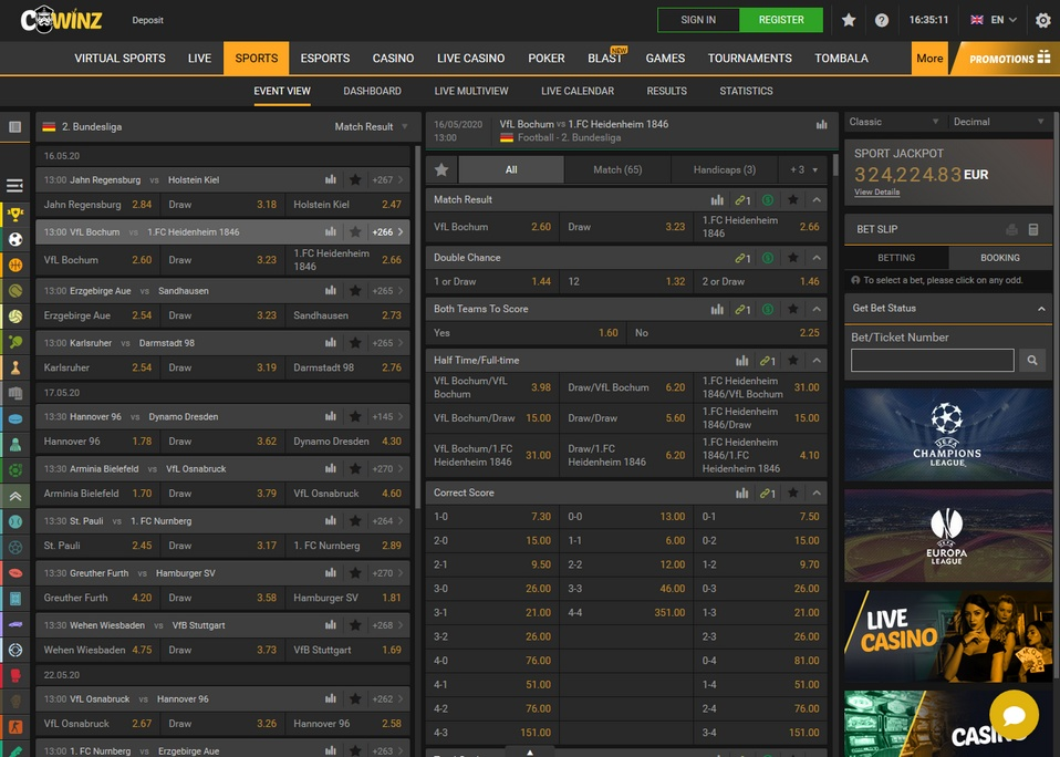 Cwinz Screen