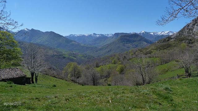 Parque Natural de Redes desde La Collada de Arnicio