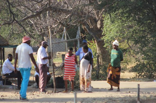 Esperando el médico en Zimbabue