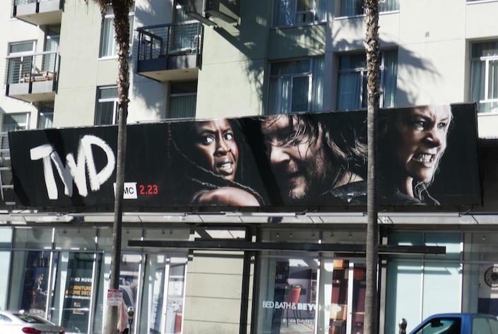 Walking Dead season 10 part 2 billboard