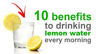 Drink Warm Lemon Water In The Morning