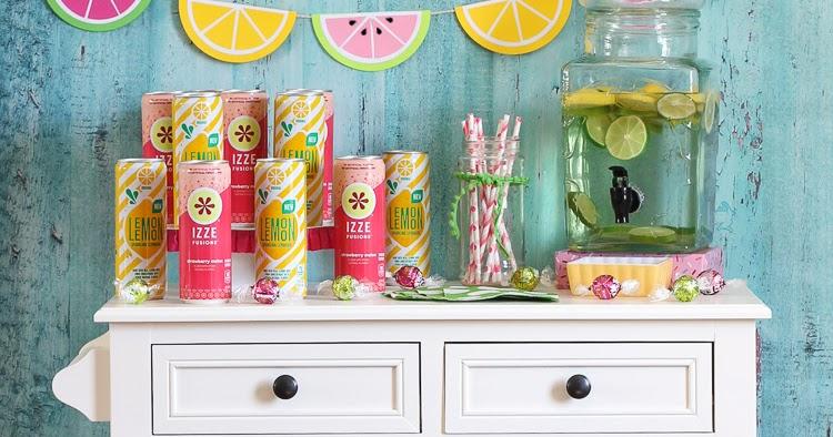 the craft patch watermelon and lemonade summer drink station. Black Bedroom Furniture Sets. Home Design Ideas